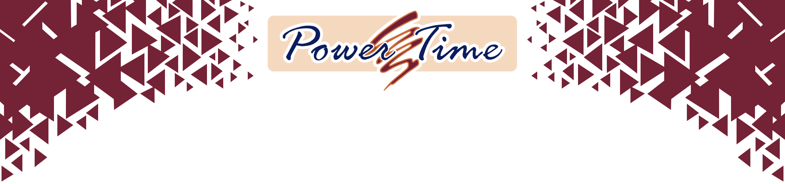 PowerTime Software Banner