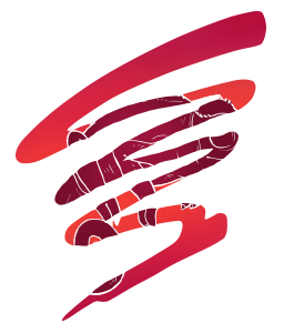 A chameleon blends in with the PowerTime logo