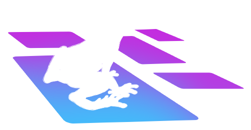 A frog with several digital platforms to choose from